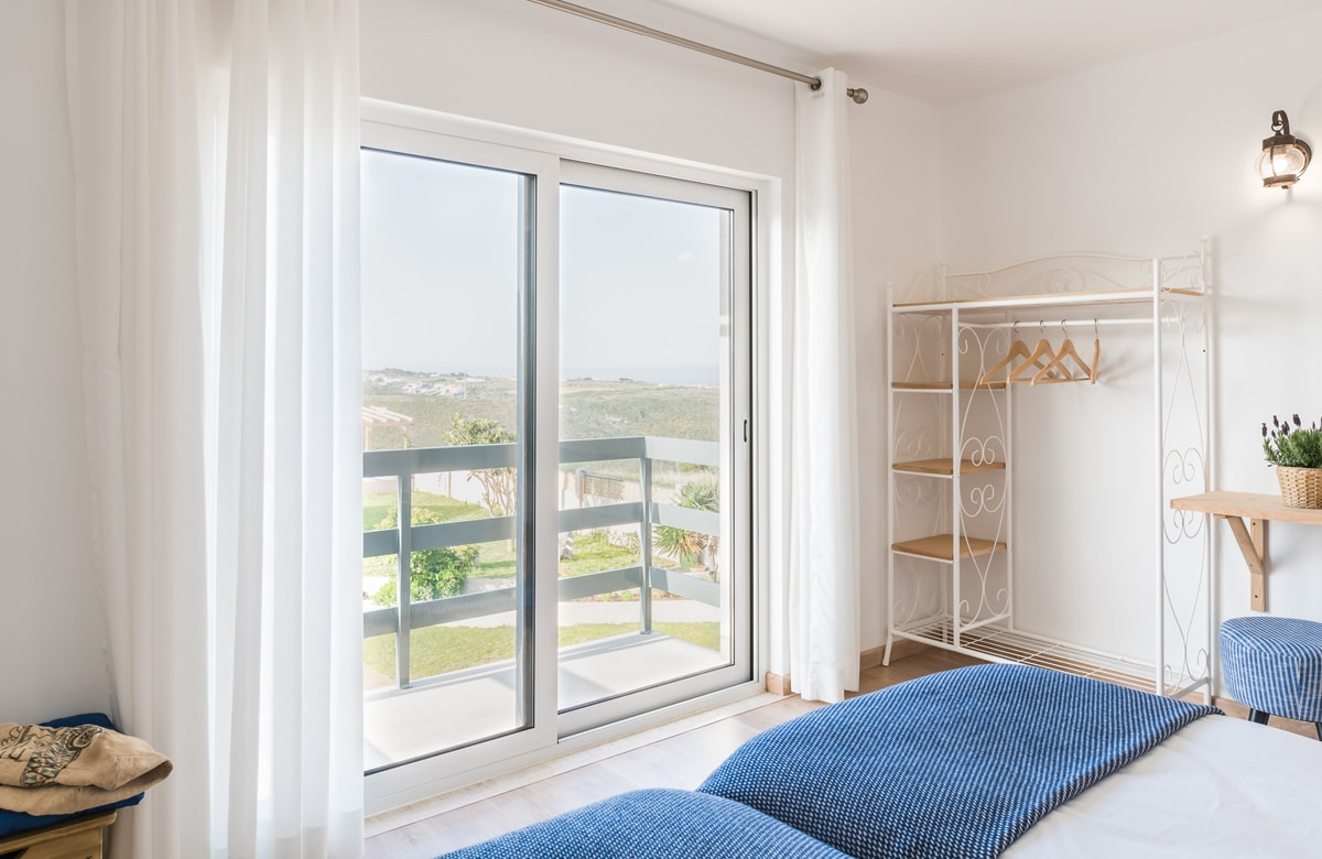 Double Twin Room with Balcony and Sea View