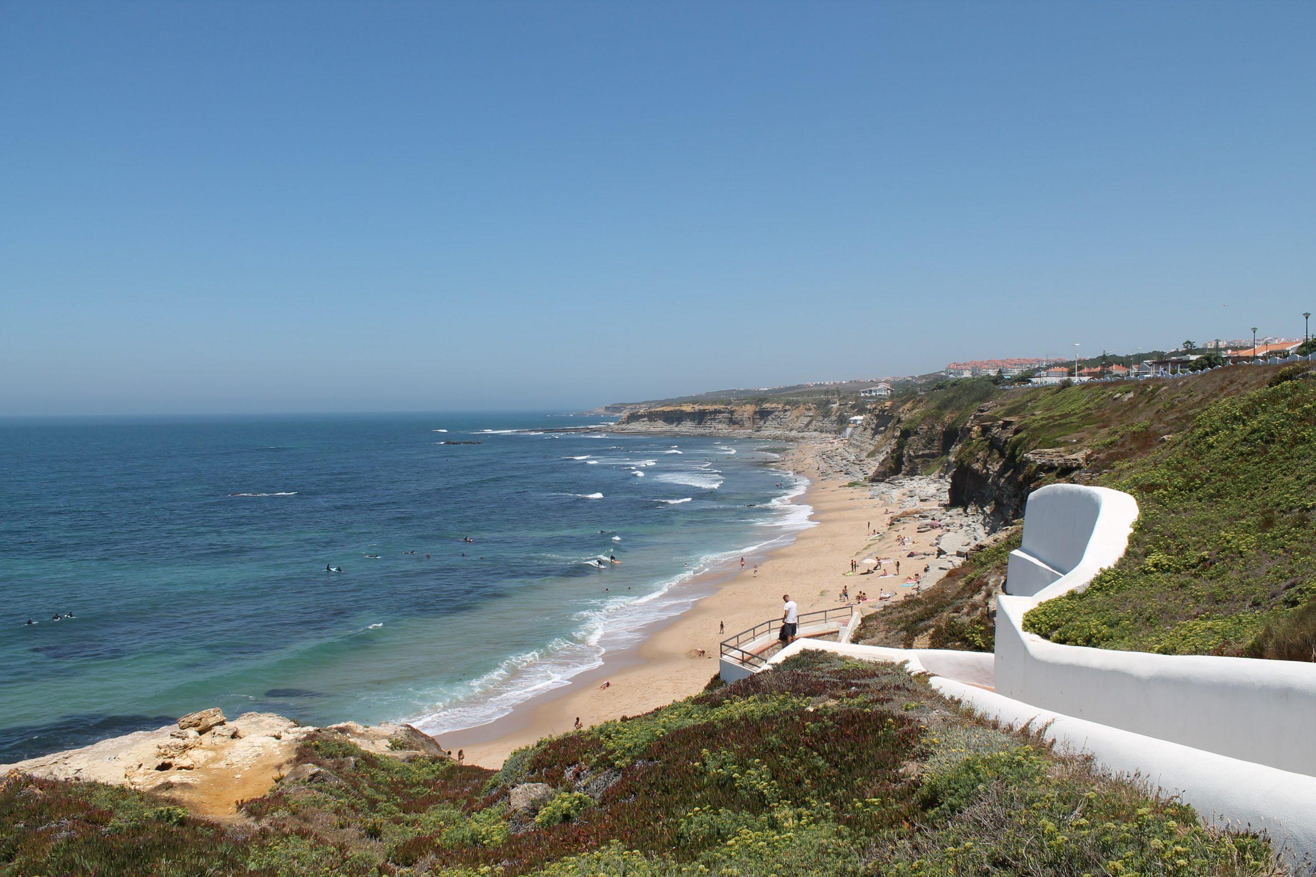 Praia de Sao Sebastiao e Matadouro Ericeira