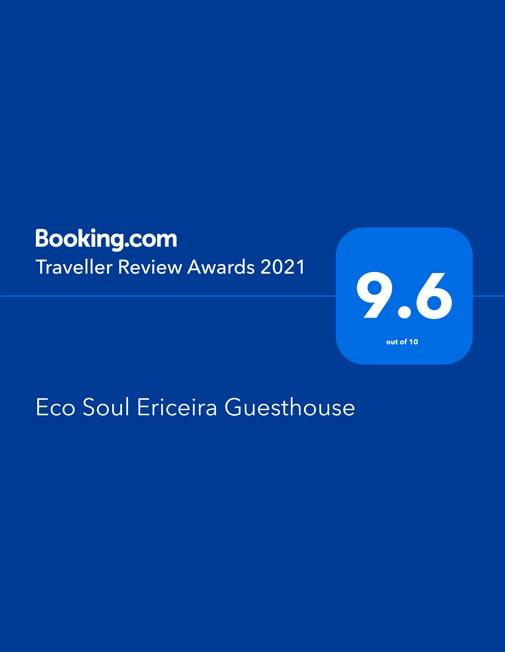 Traveller Review Award 2021 Eco Soul Ericeira Guesthouse